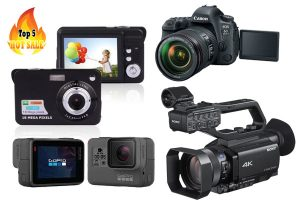 อันดับกล้องวีดิโอที่ยอดฮิตและขายดีที่สุด